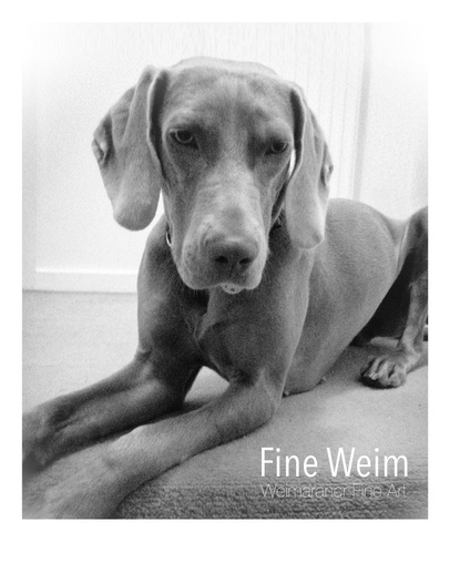 Fine Weim - Signed, Limited Edition Print