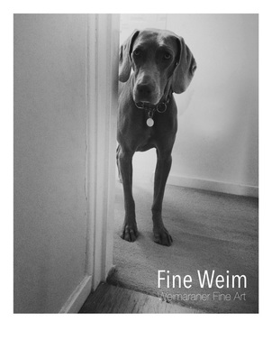 Weimaraner Fine Art Print: You Called...